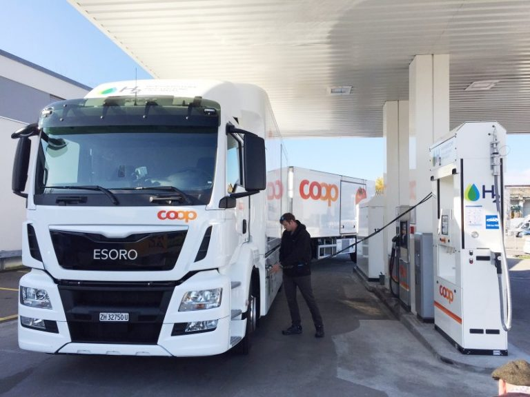 Brennstoffzellen-LKW