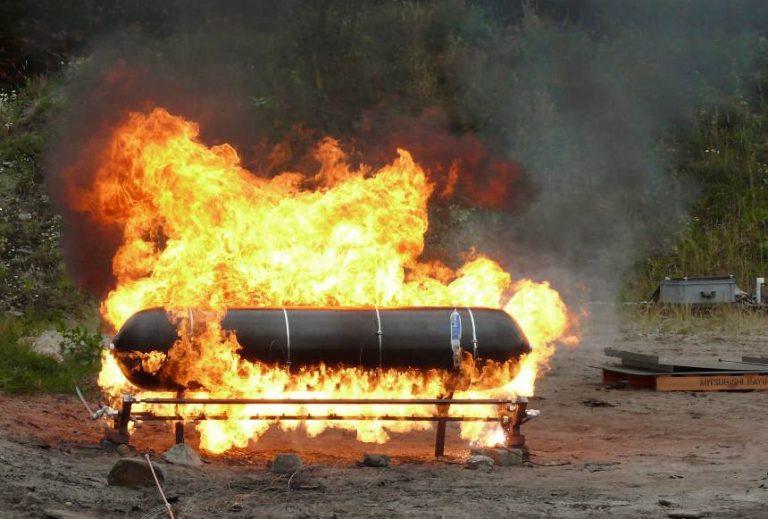 Sicherheit Wasserstofffahrzeug